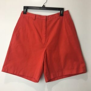 Tommy Hilfiger Red Golf Shorts Size 6